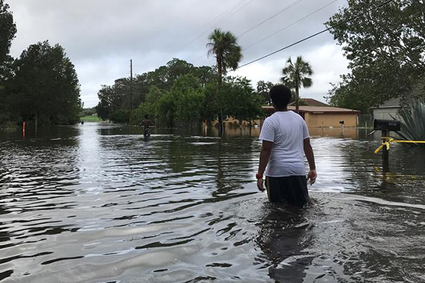 Mercy Hill Church - Grace Alive Church - Hurricane Irma - Flooding - Orlando, Florida