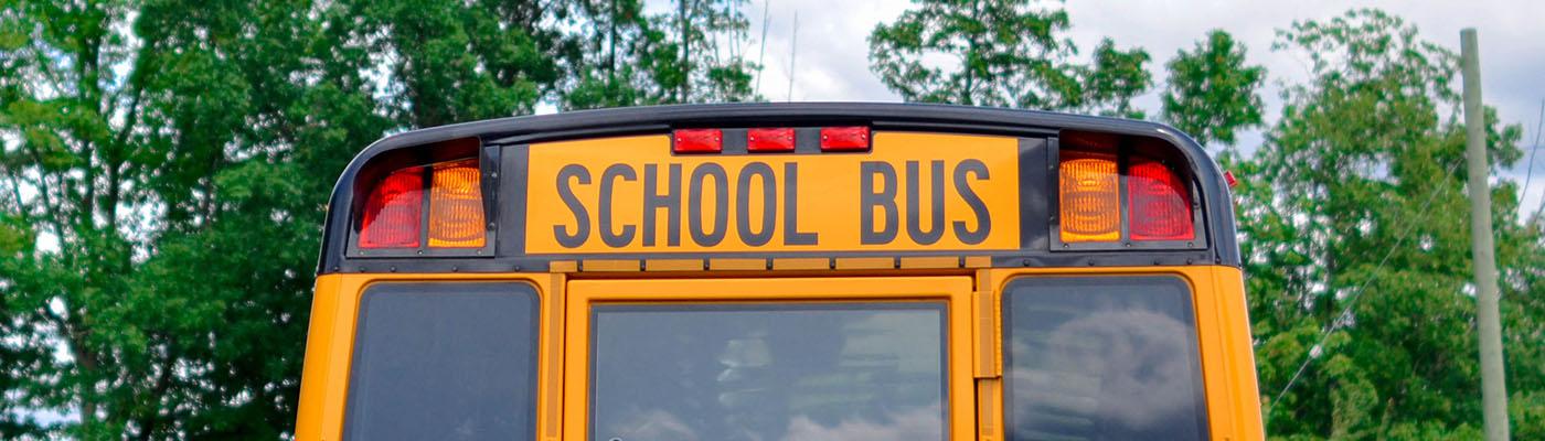 School Bus Mercy Hill Students