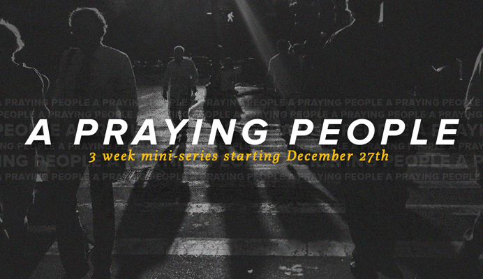 A Praying People - sermon - series - art