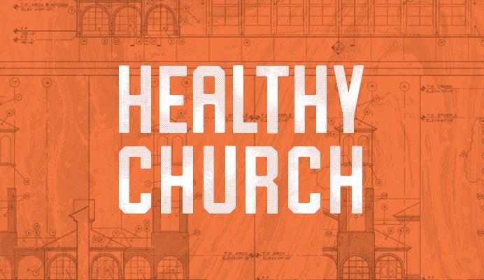 Healthy church - sermon series - art